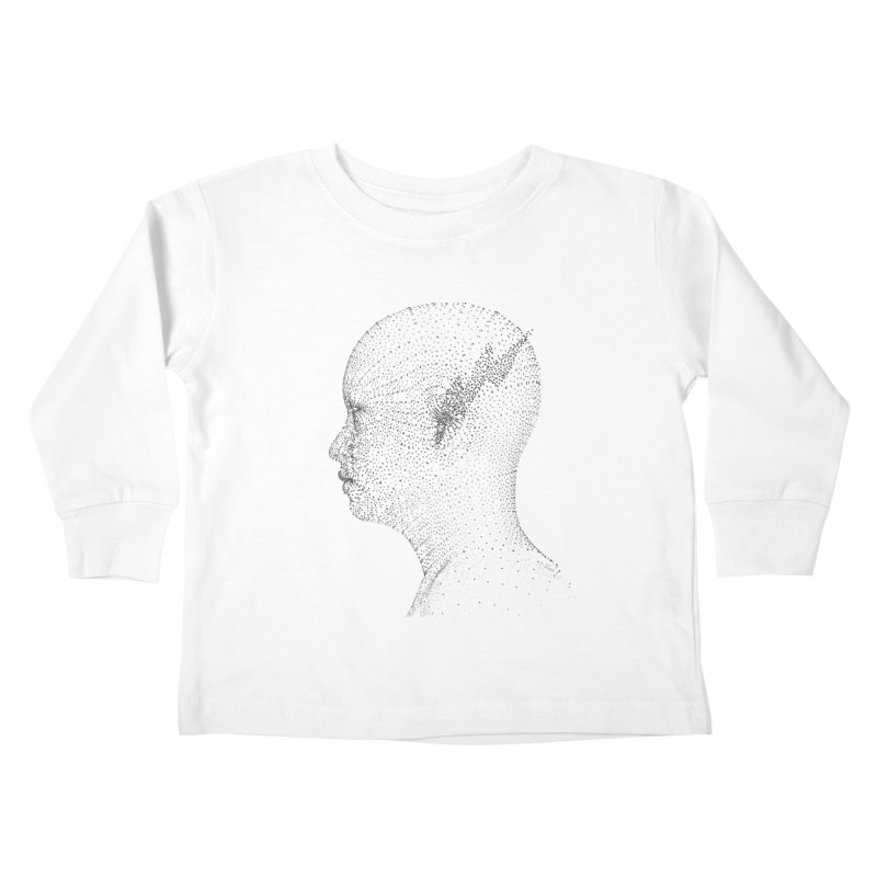 The Messenger BW Kids Toddler Longsleeve T-Shirt by ZWOONT!