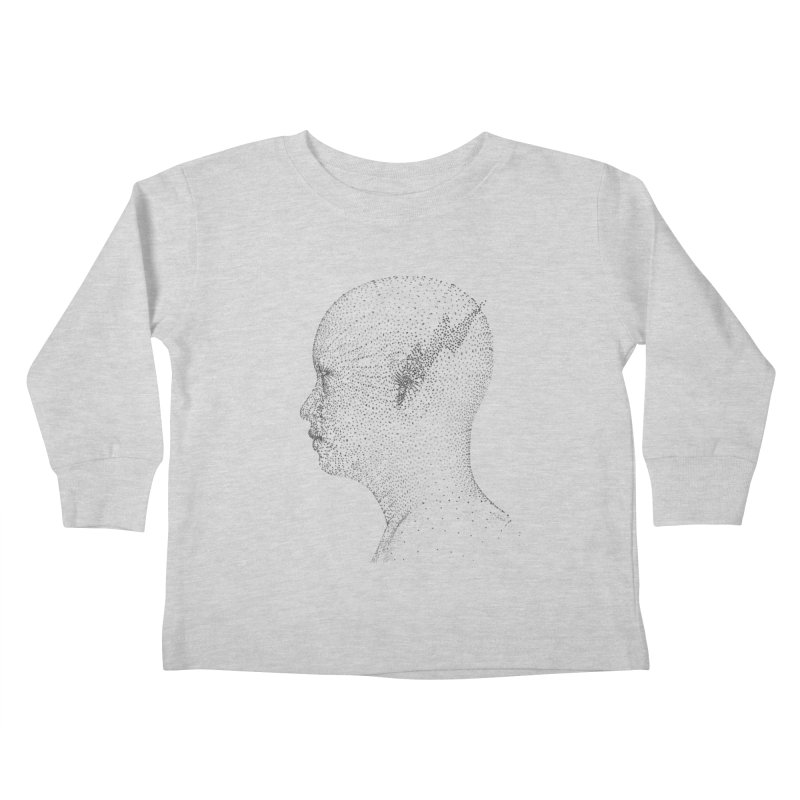 The Messenger BW Kids Toddler Longsleeve T-Shirt by ZWOONT!