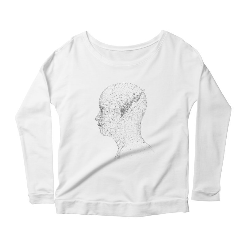 The Messenger BW Women's Longsleeve Scoopneck  by ZWOONT!