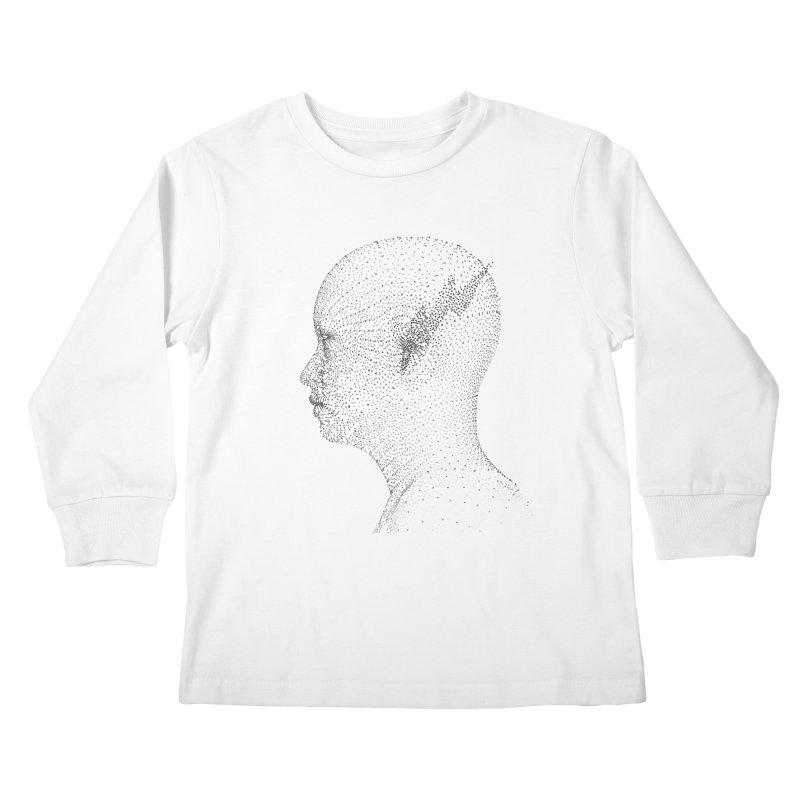 The Messenger BW Kids Longsleeve T-Shirt by ZWOONT!
