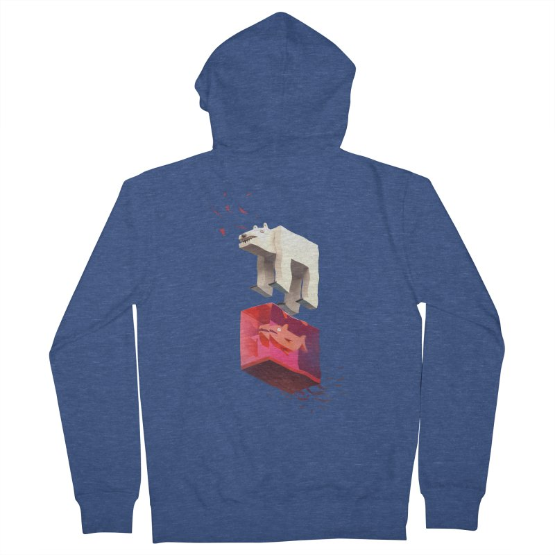 Lunch Women's French Terry Zip-Up Hoody by ZWOONT!