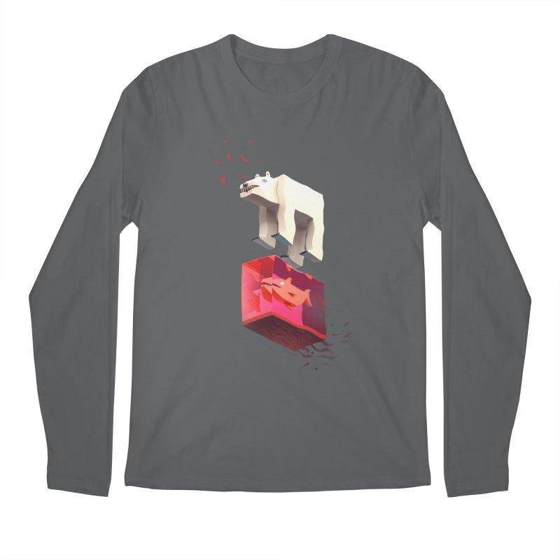 Lunch Men's Longsleeve T-Shirt by ZWOONT!