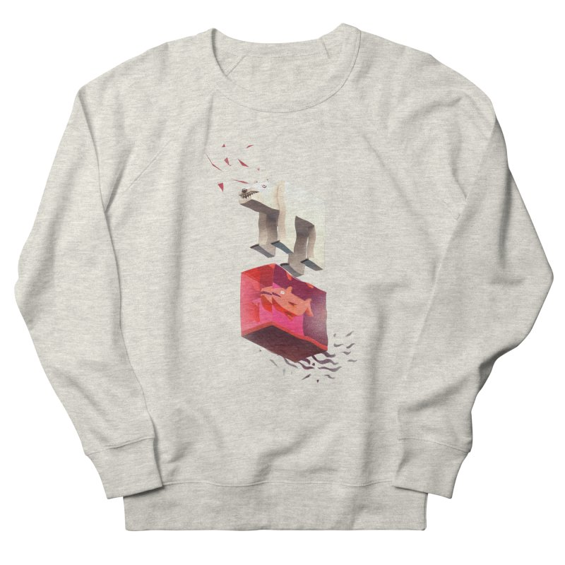 Lunch Women's French Terry Sweatshirt by ZWOONT!