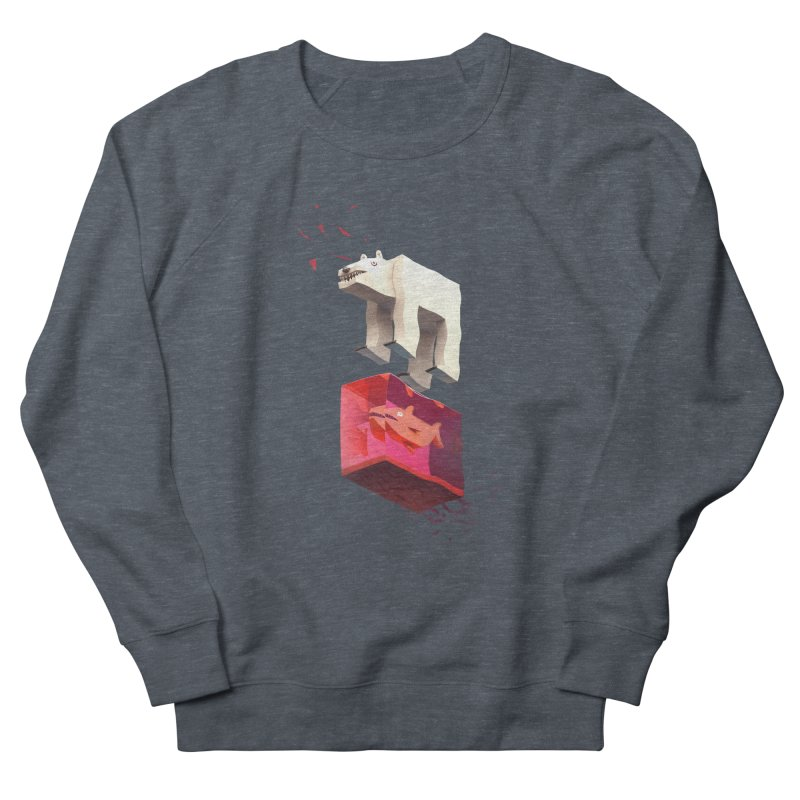Lunch Men's French Terry Sweatshirt by ZWOONT!