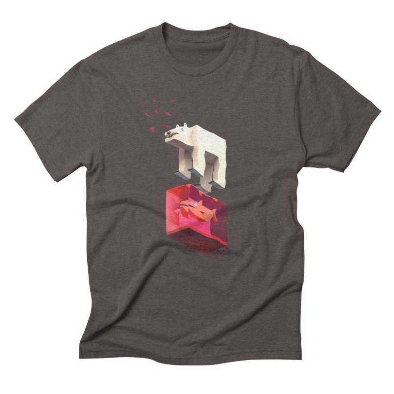 Lunch Men's Triblend T-Shirt by ZWOONT!