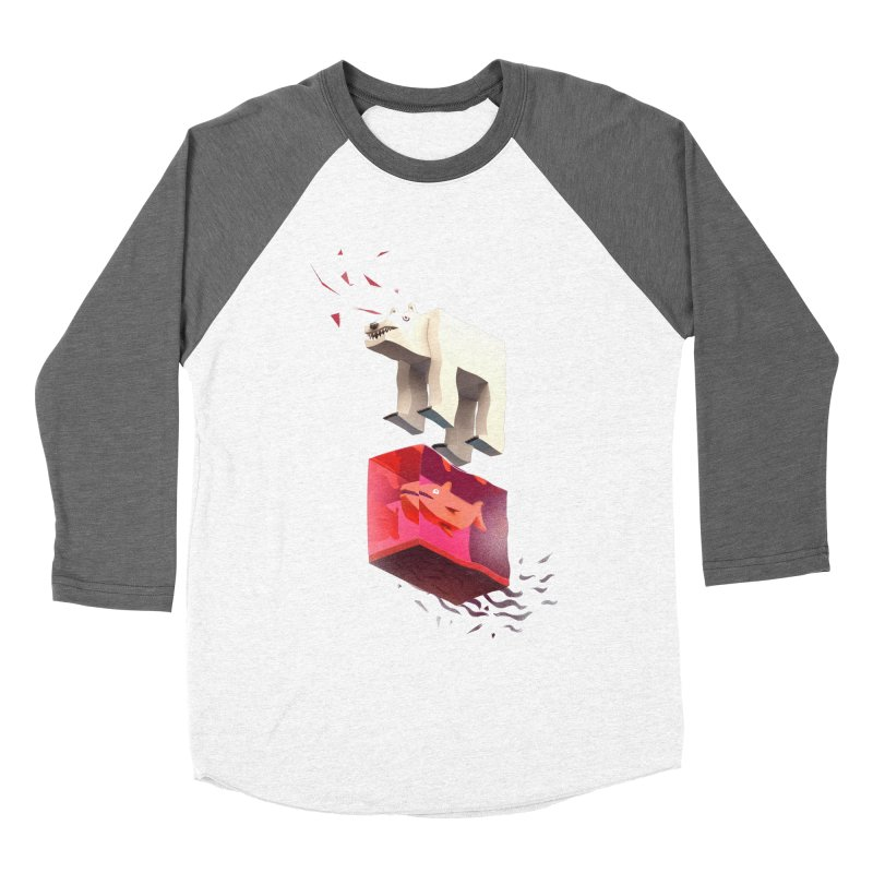 Lunch Women's Baseball Triblend Longsleeve T-Shirt by ZWOONT!