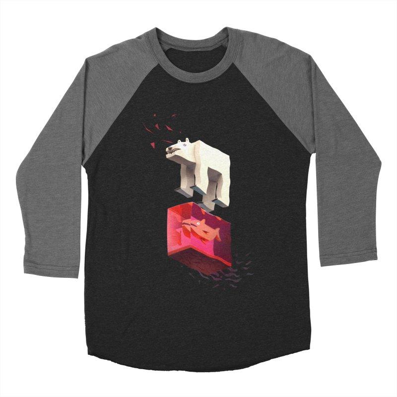Lunch Women's Baseball Triblend T-Shirt by ZWOONT!
