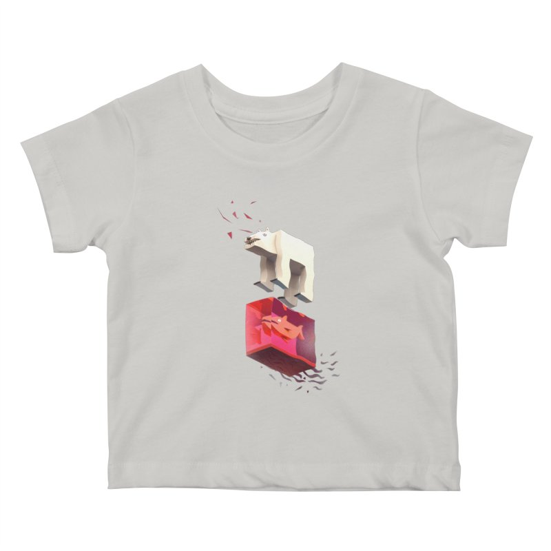 Lunch Kids Baby T-Shirt by ZWOONT!