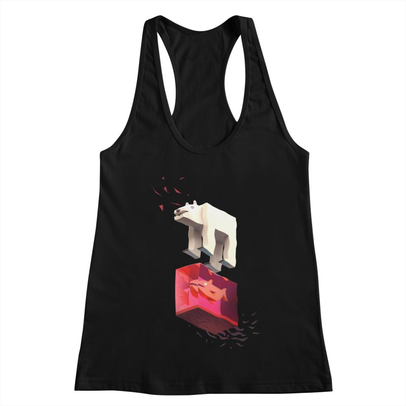 Lunch Women's Racerback Tank by ZWOONT!