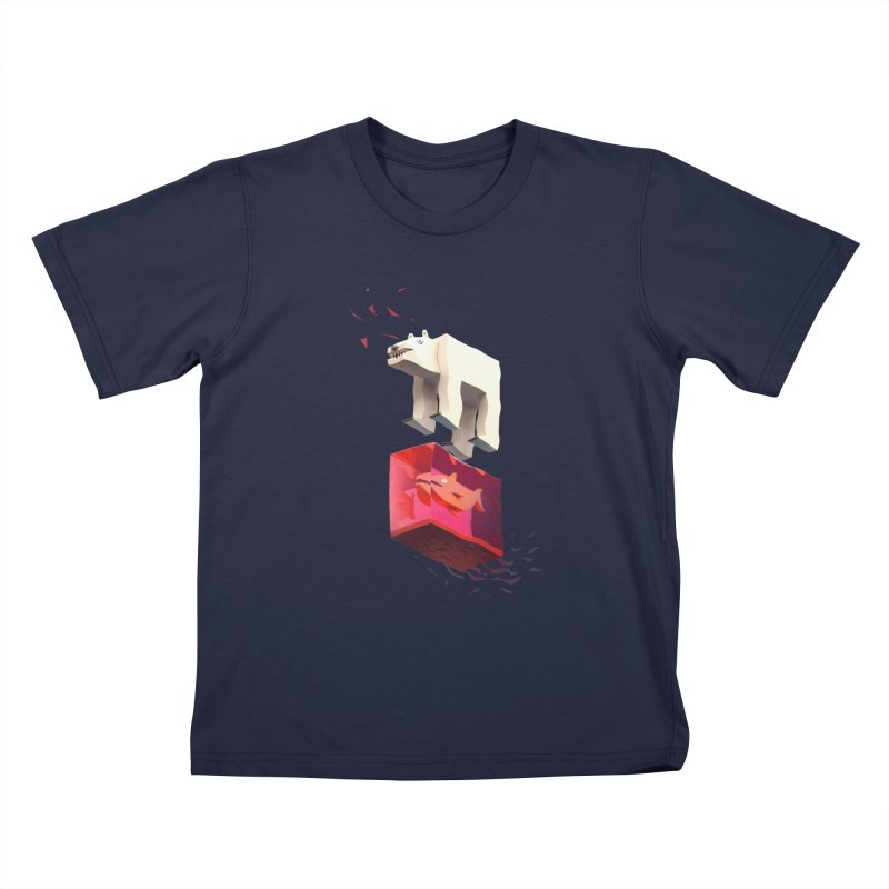 Lunch Kids T-Shirt by ZWOONT!