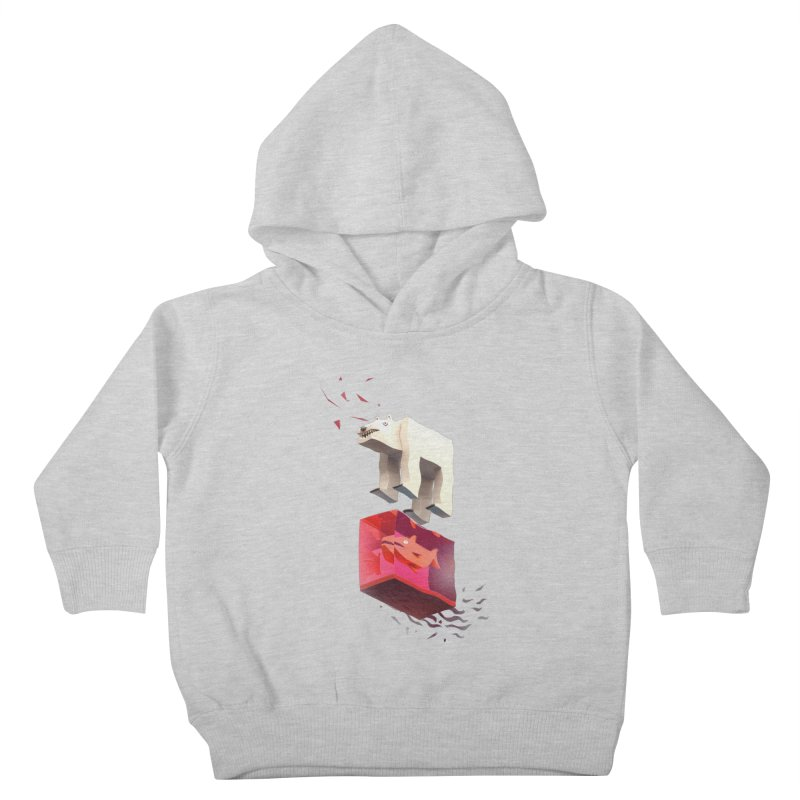 Lunch Kids Toddler Pullover Hoody by ZWOONT!
