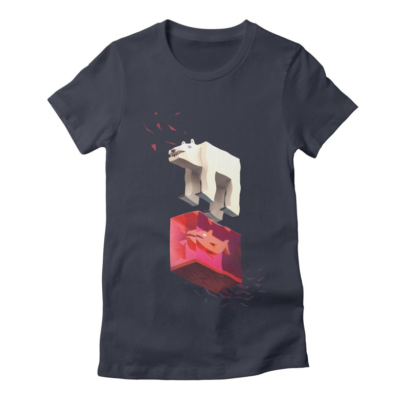 Lunch Women's Fitted T-Shirt by ZWOONT!