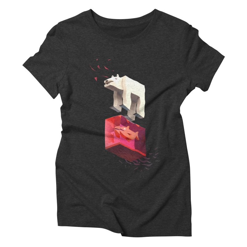 Lunch Women's Triblend T-shirt by ZWOONT!