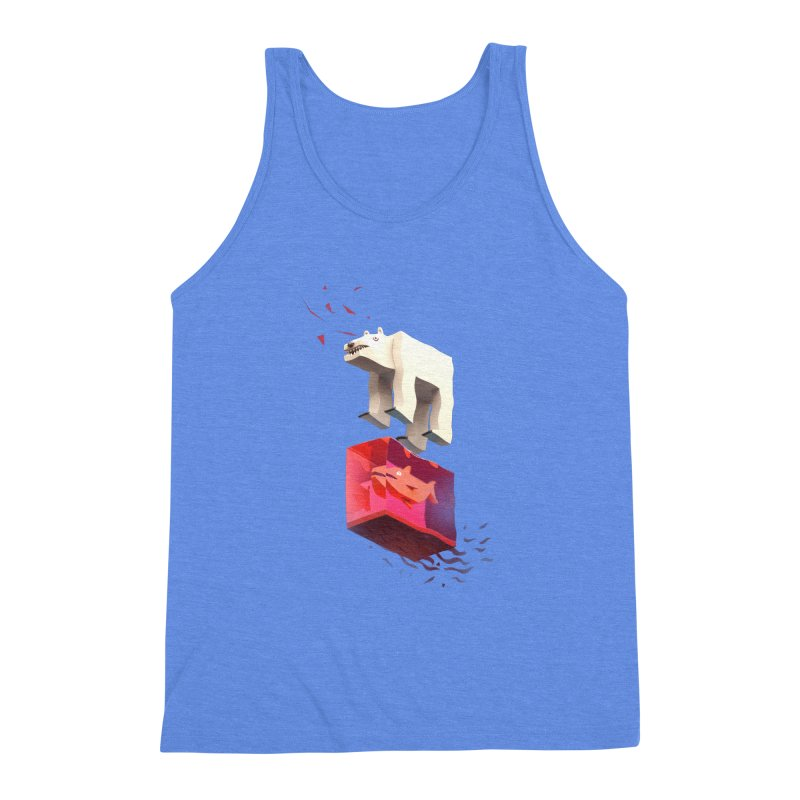 Lunch Men's Triblend Tank by ZWOONT!