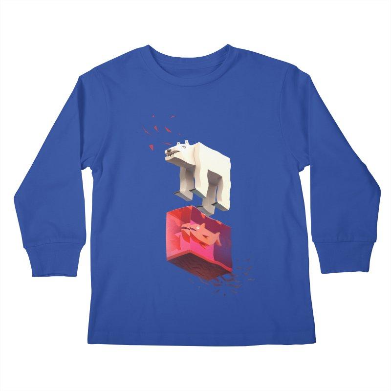 Lunch Kids Longsleeve T-Shirt by ZWOONT!