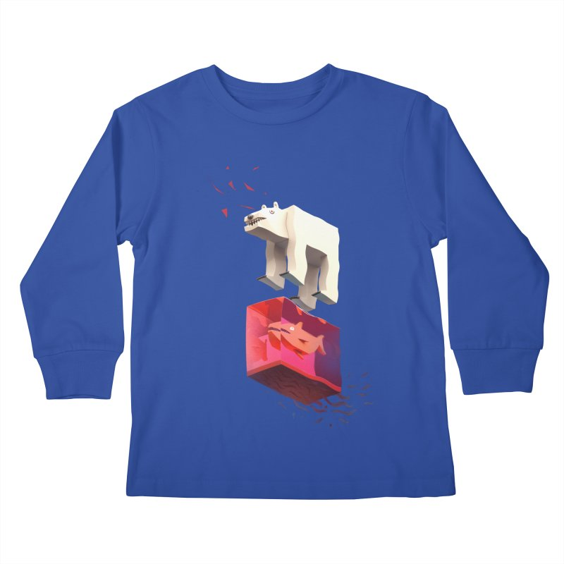Lunch Kids Longsleeve T-Shirt by ZWOONT!