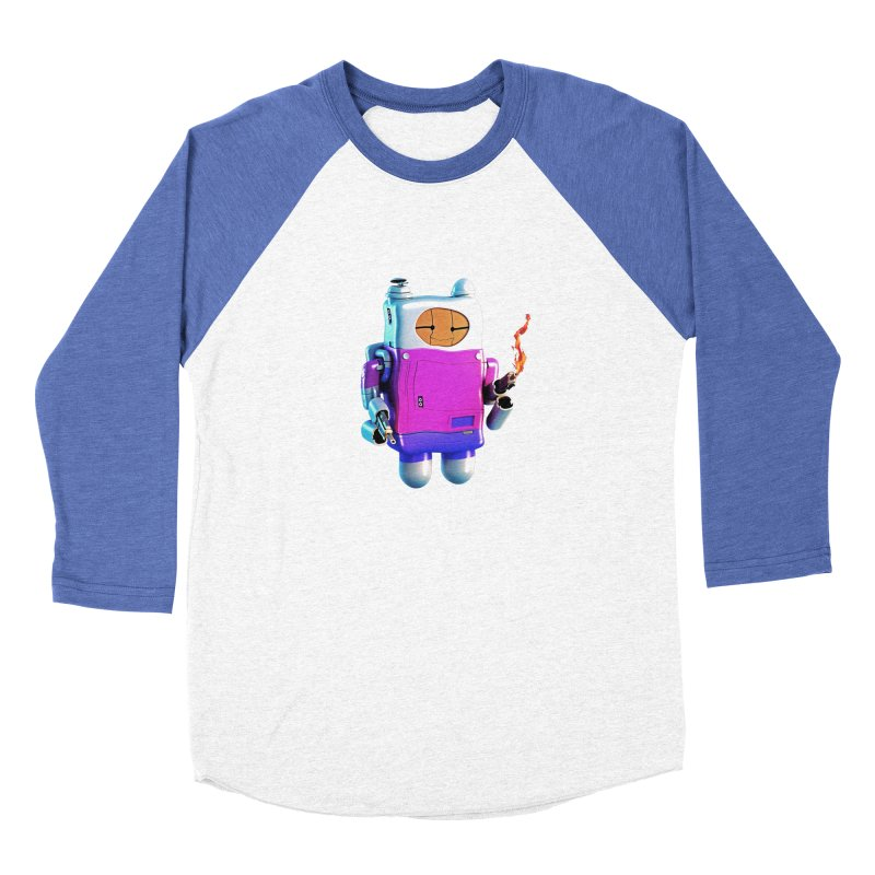Cutebot Men's Baseball Triblend Longsleeve T-Shirt by ZWOONT!