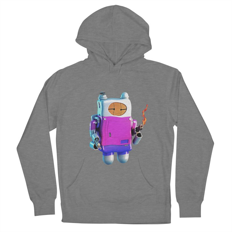 Cutebot Men's French Terry Pullover Hoody by ZWOONT!