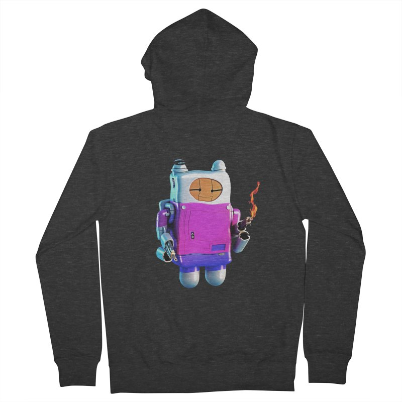 Cutebot Women's French Terry Zip-Up Hoody by ZWOONT!