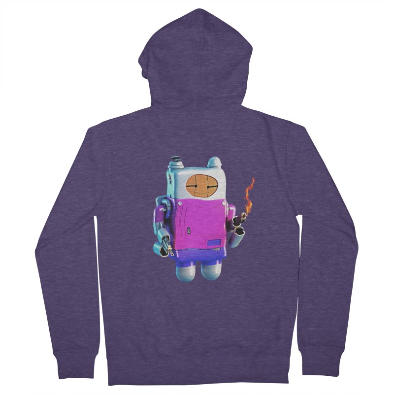 Cutebot Men's Zip-Up Hoody by ZWOONT!