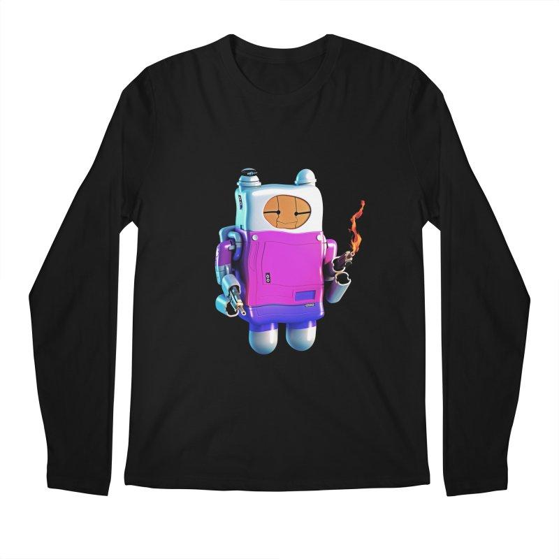 Cutebot Men's Longsleeve T-Shirt by ZWOONT!