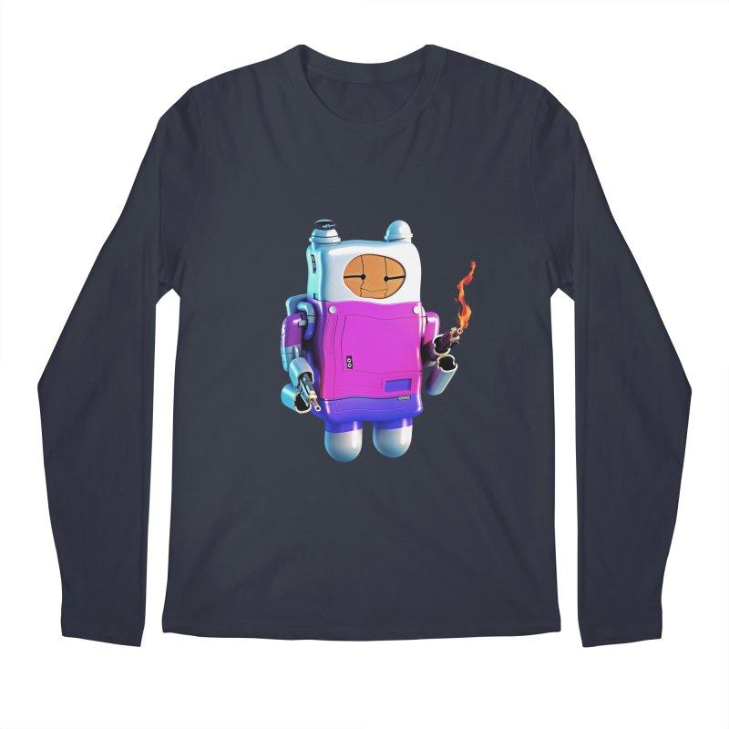 Cutebot Men's Regular Longsleeve T-Shirt by ZWOONT!