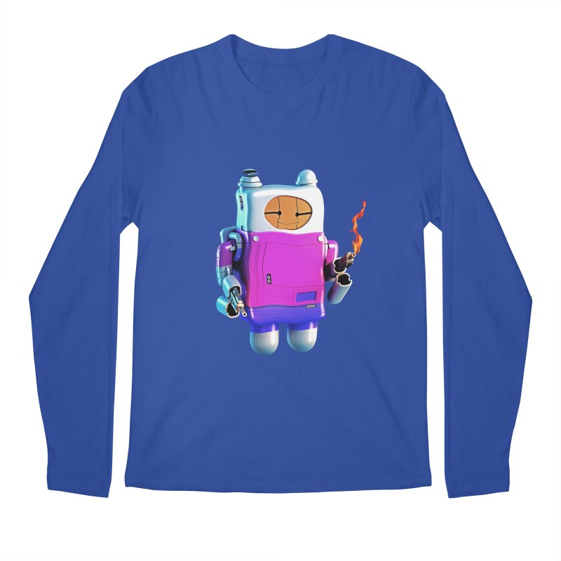 Cutebot Men's Longsleeve T-Shirt by ZWOONT!