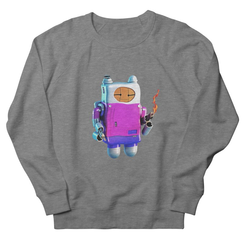Cutebot Men's French Terry Sweatshirt by ZWOONT!
