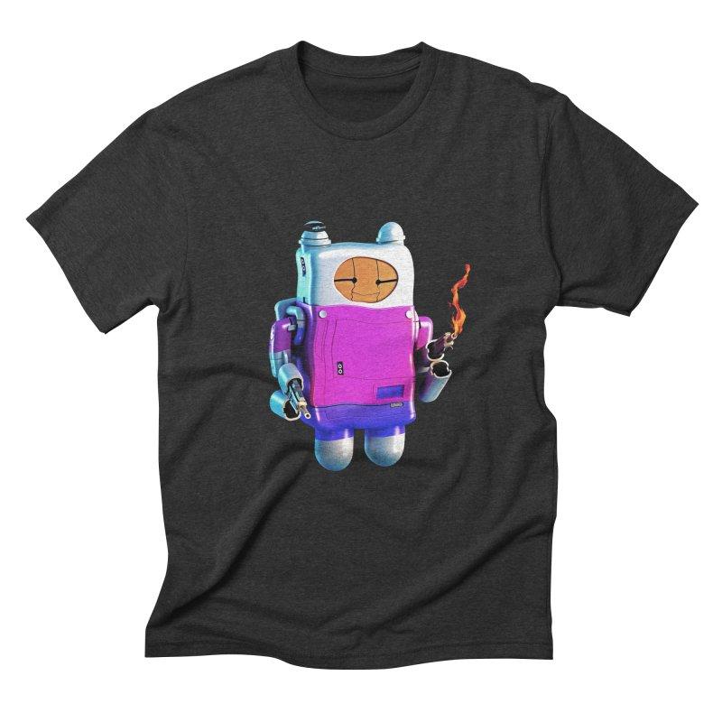Cutebot Men's Triblend T-Shirt by ZWOONT!