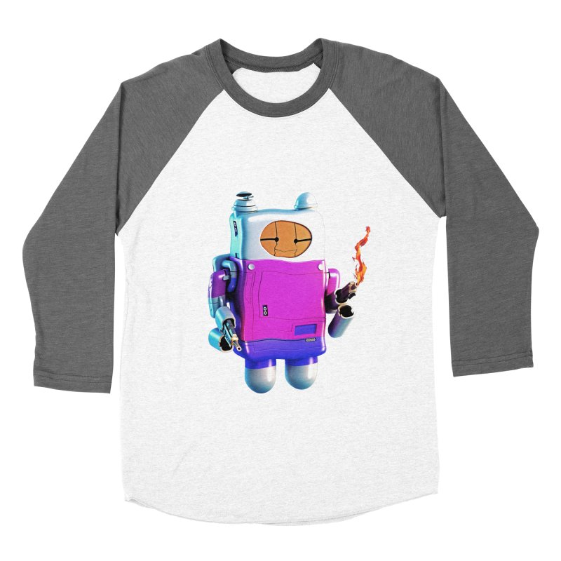 Cutebot Women's Baseball Triblend T-Shirt by ZWOONT!