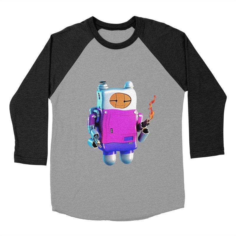 Cutebot Women's Baseball Triblend T-Shirt by ZWOONT!