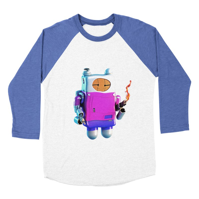 Cutebot Men's Baseball Triblend T-Shirt by ZWOONT!