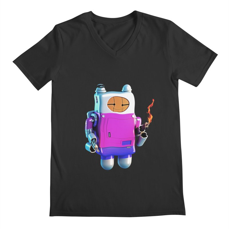 Cutebot Men's V-Neck by ZWOONT!