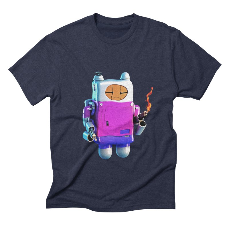 Cutebot Men's Triblend T-shirt by ZWOONT!