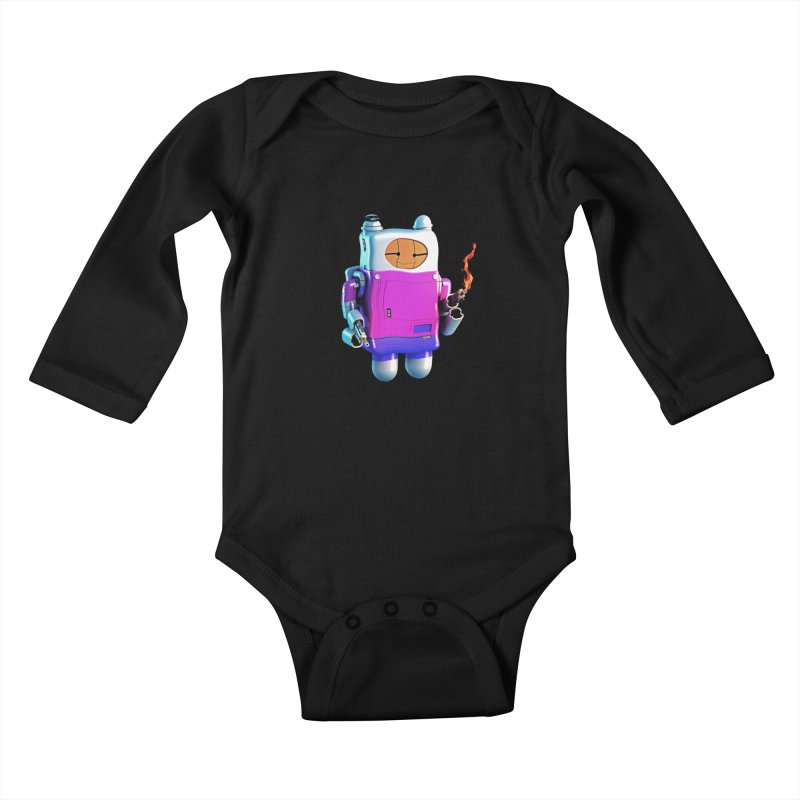 Cutebot Kids Baby Longsleeve Bodysuit by ZWOONT!
