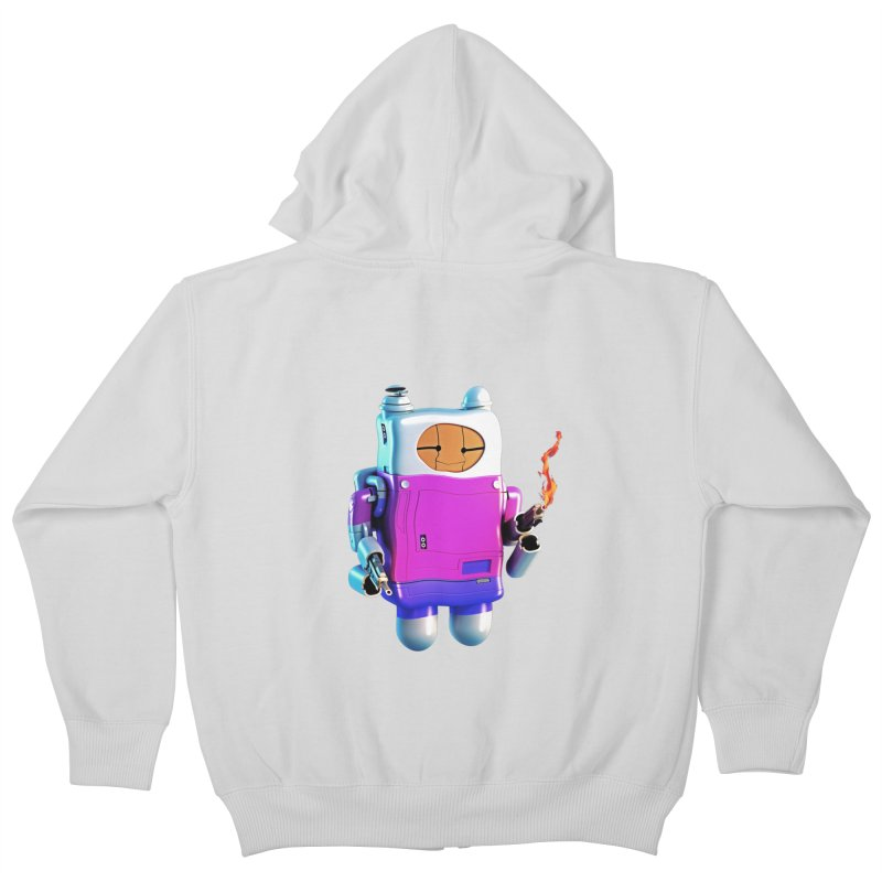 Cutebot Kids Zip-Up Hoody by ZWOONT!