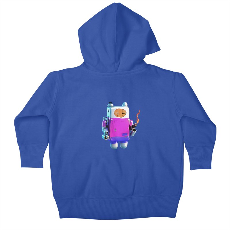 Cutebot Kids Baby Zip-Up Hoody by ZWOONT!
