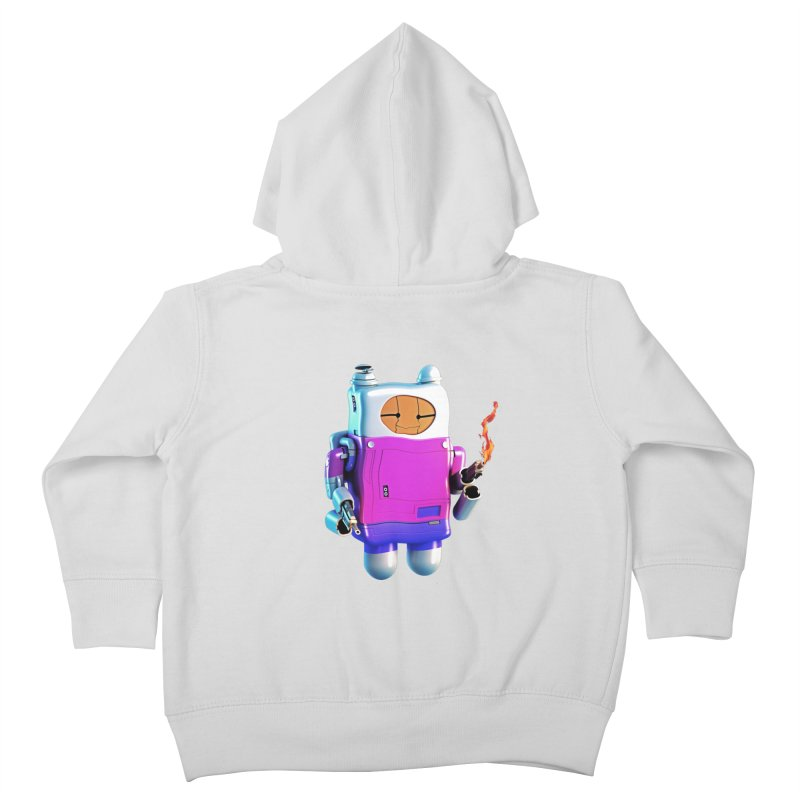 Cutebot Kids Toddler Zip-Up Hoody by ZWOONT!