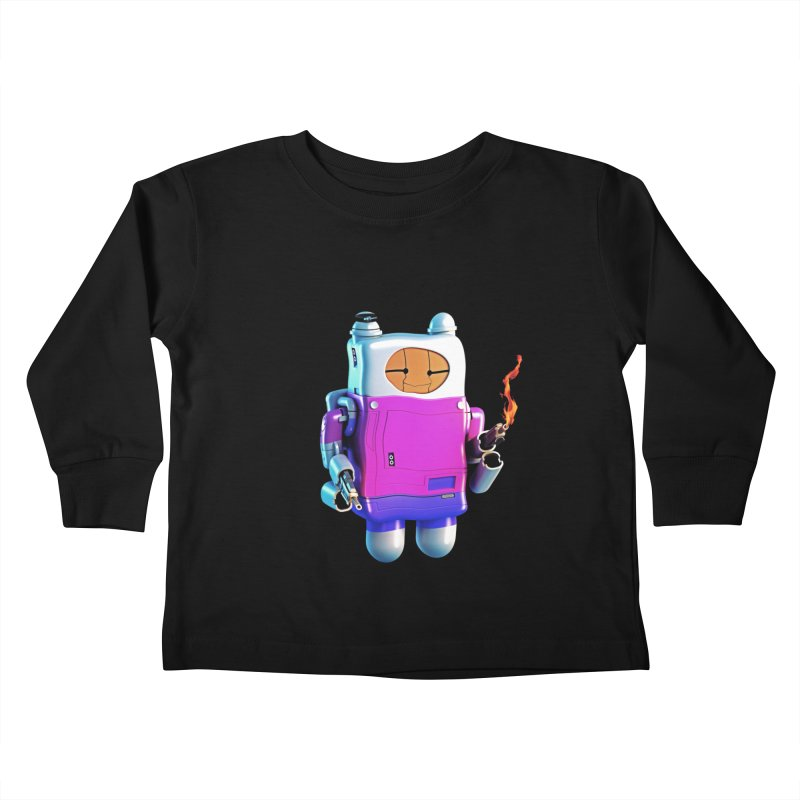 Cutebot Kids Toddler Longsleeve T-Shirt by ZWOONT!
