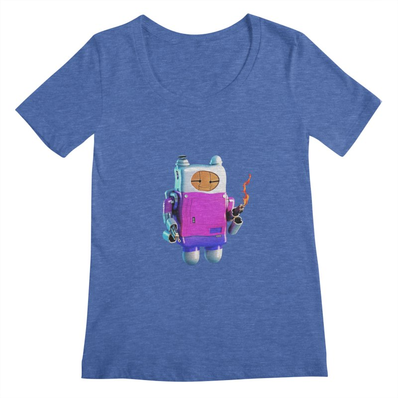 Cutebot Women's Scoopneck by ZWOONT!