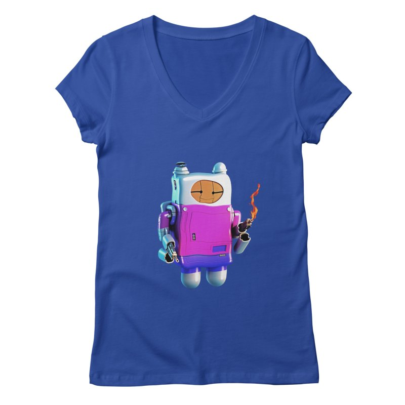 Cutebot Women's V-Neck by ZWOONT!
