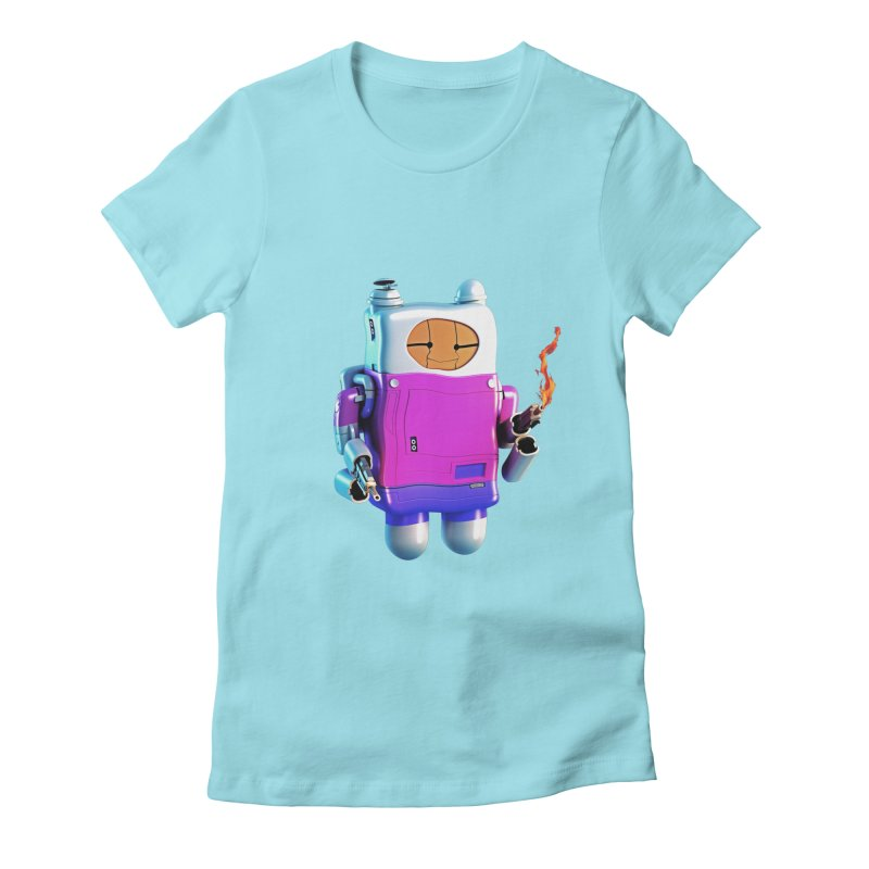 Cutebot Women's Fitted T-Shirt by ZWOONT!