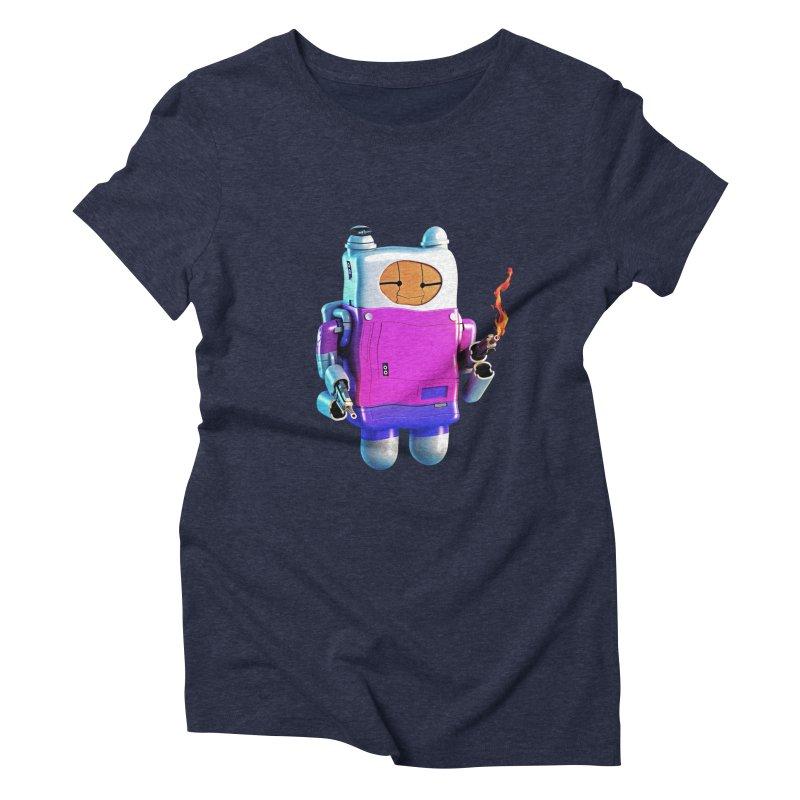 Cutebot Women's Triblend T-Shirt by ZWOONT!