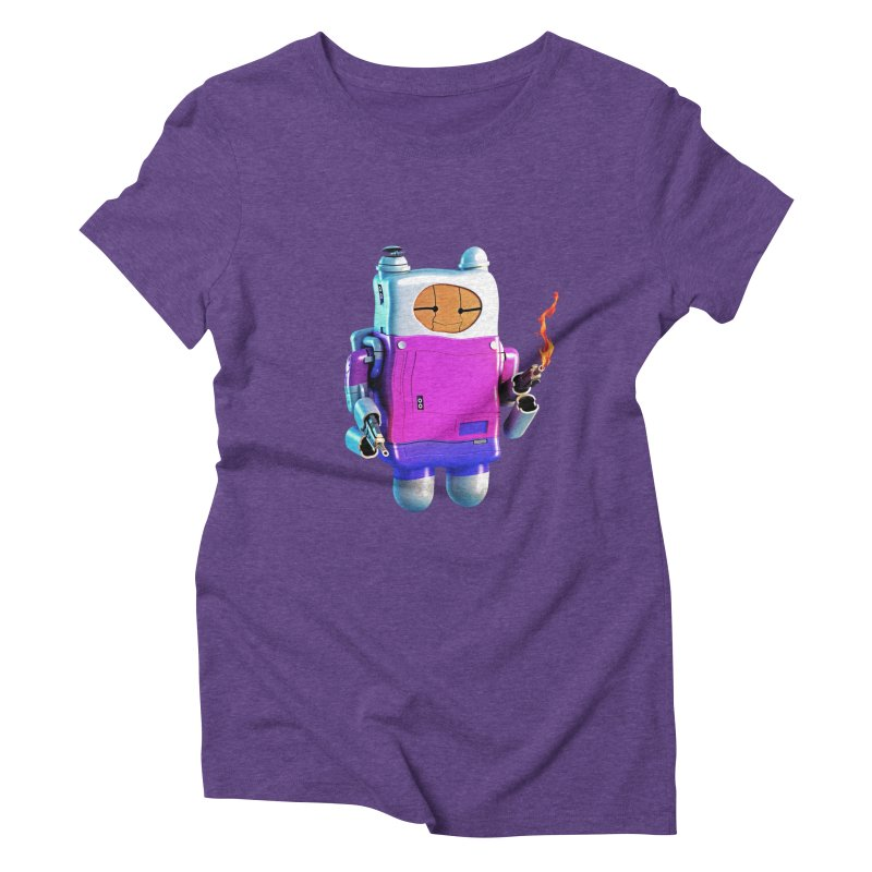 Cutebot Women's Triblend T-shirt by ZWOONT!