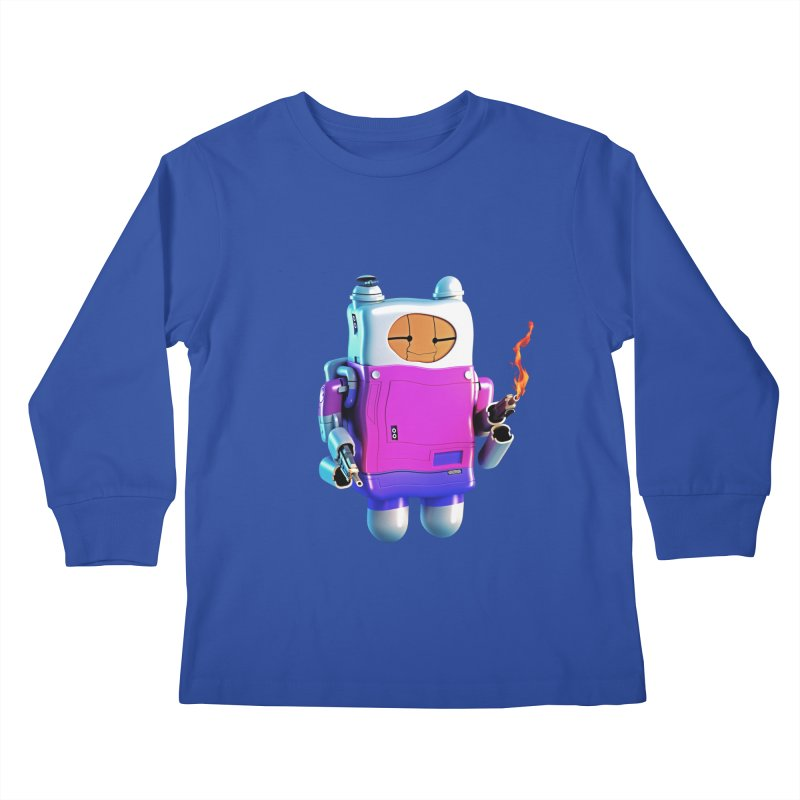 Cutebot Kids Longsleeve T-Shirt by ZWOONT!