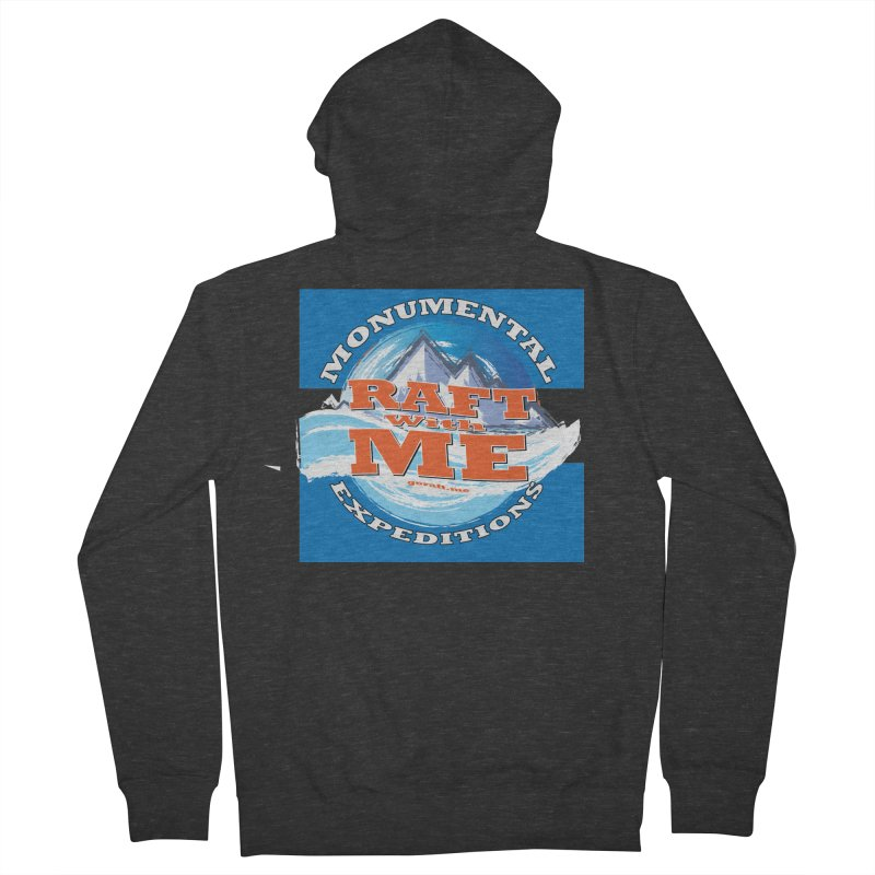 Raft with ME Men's French Terry Zip-Up Hoody by Monumental Expeditions