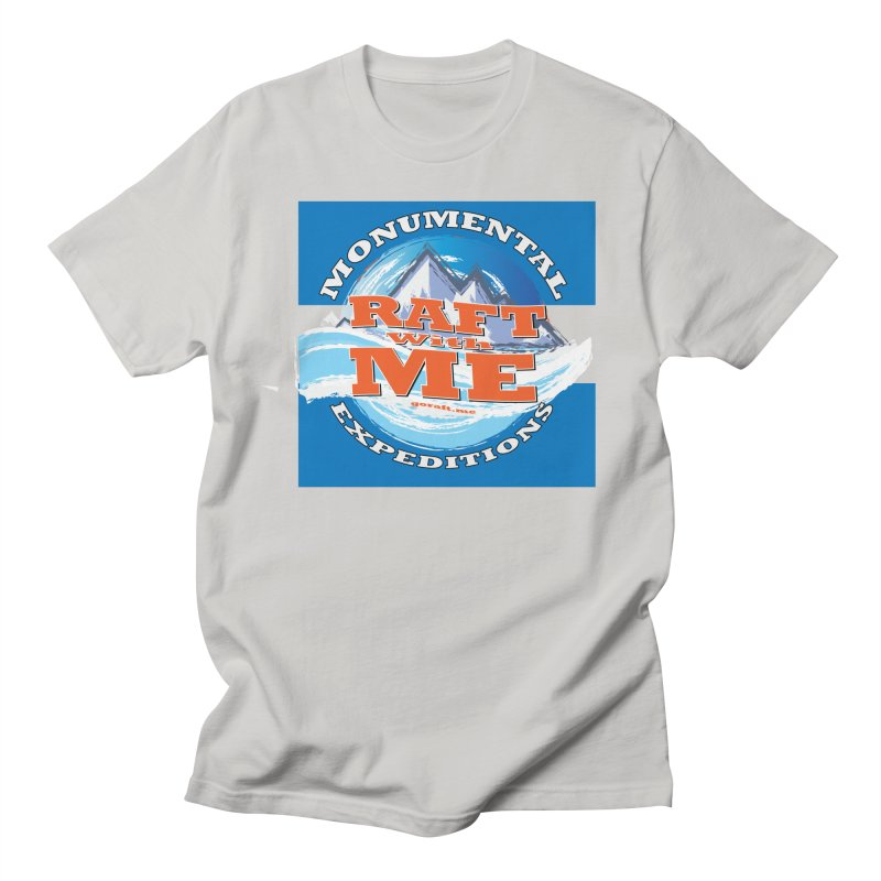 Raft with ME Men's Regular T-Shirt by Monumental Expeditions