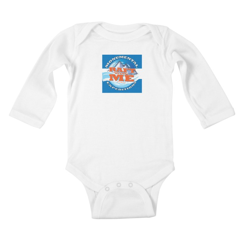 Raft with ME Kids Baby Longsleeve Bodysuit by Monumental Expeditions