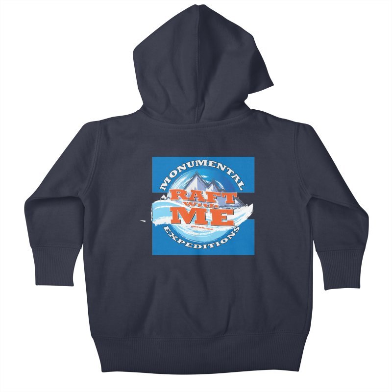 Raft with ME Kids Baby Zip-Up Hoody by Monumental Expeditions