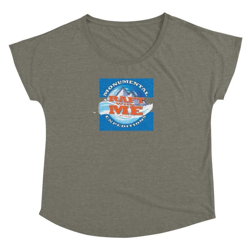 Raft with ME Women's Dolman Scoop Neck by Monumental Expeditions
